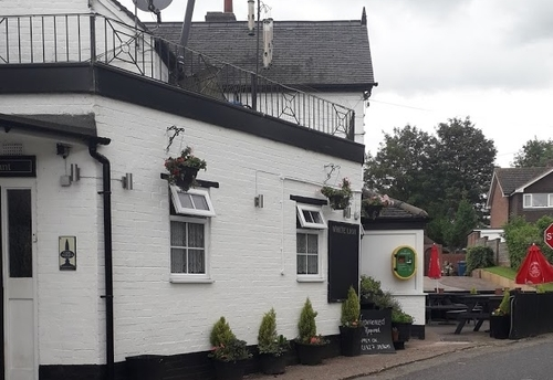 The White Lion Pub in Harlaston
