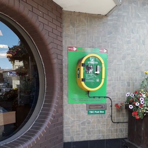 Defibrillator outside Marmion House