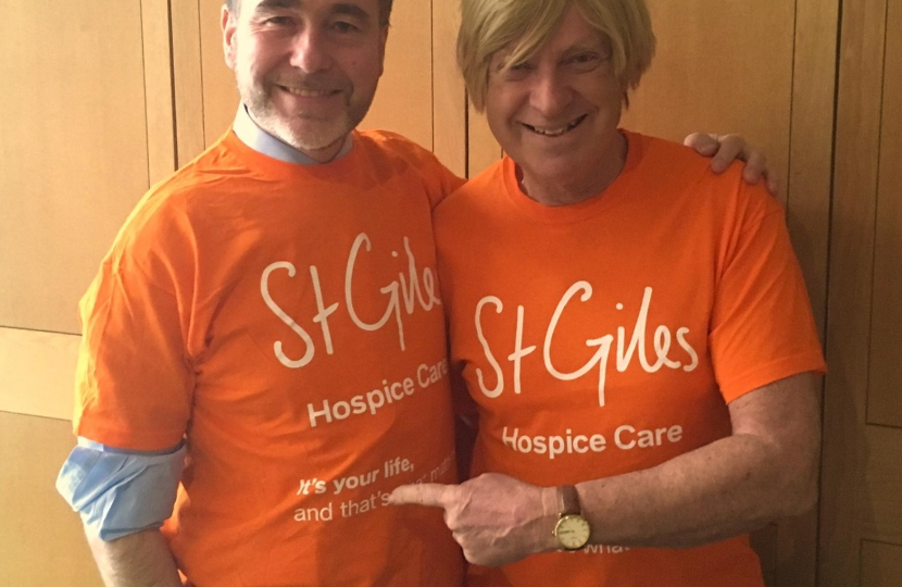 St Giles Hospice Orange Wednesday