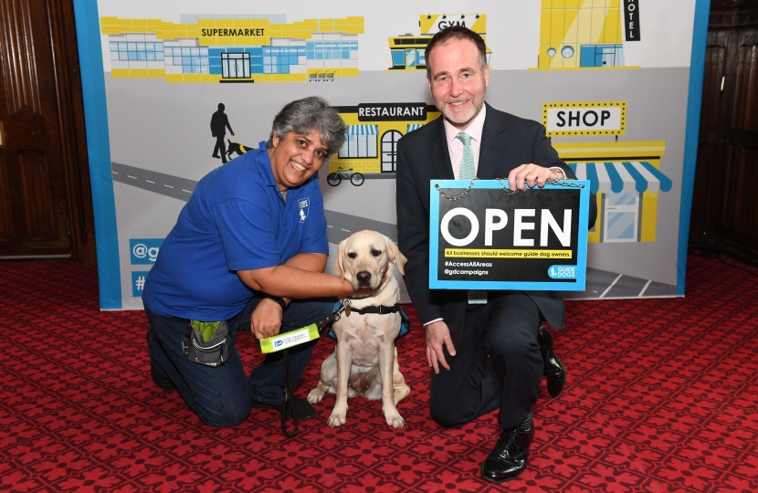 Supporting the Guide Dogs Access All Areas Campaign
