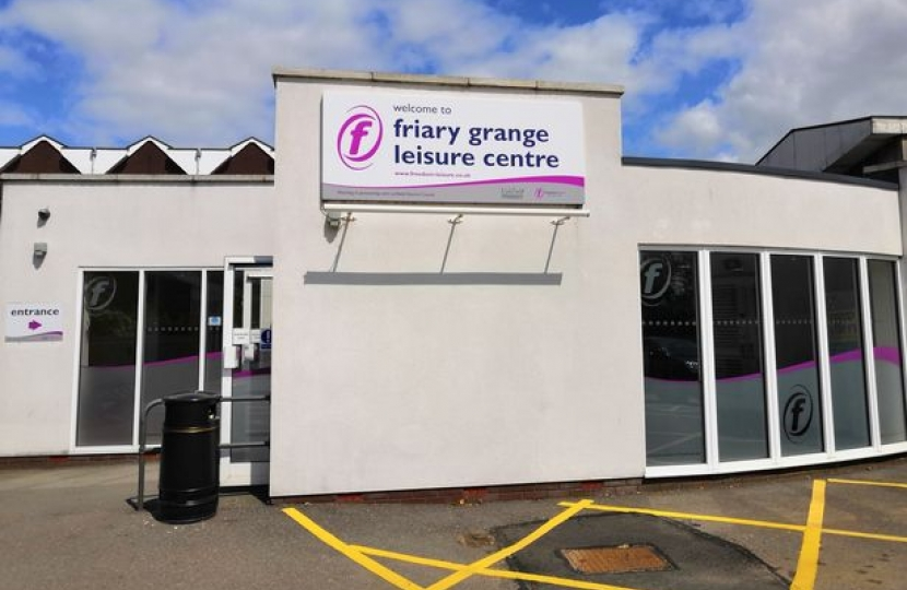Have your say on the future of the Friary Grange