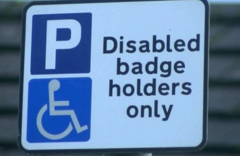 blue badge changes