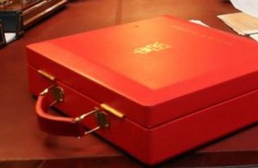 Budget red box