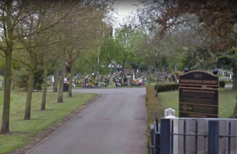wigginton cemetary reopens