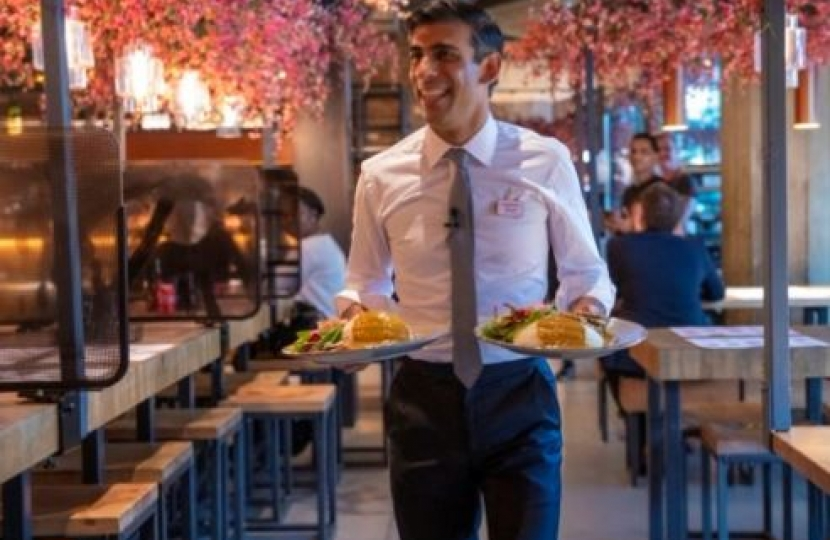 The Chancellor's new eat out scheme to help the hospitality industry