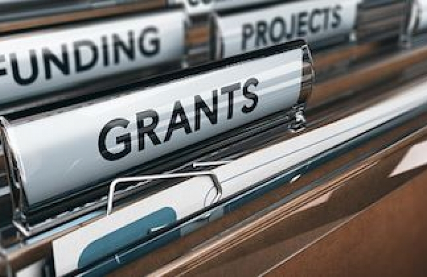 grants available for b2b sales companies in Staffordshire