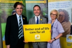 supporting the marie curie cancer launch with Stephen Mangan