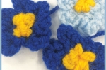 knitting forget me nots