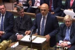 Sajid Javid delivers the spending review