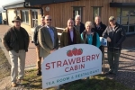 Meeting the NFU at the local strawberry farm