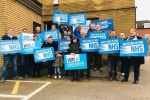 Backing the NHS here in Tamworth