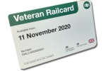 Veterans Rail Discount Card will soon be rolled out