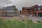 New builds in Coton Green